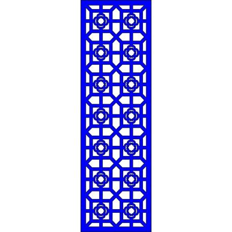Cnc Panel Laser Cut Pattern File cn-l508 Free CDR Vectors Art