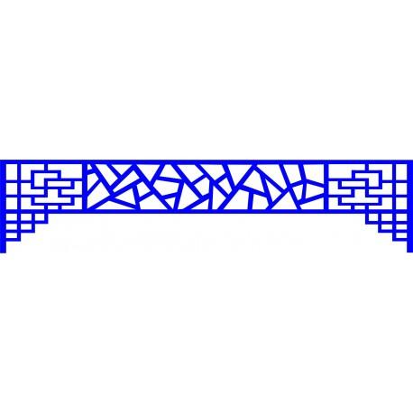 Cnc Panel Laser Cut Pattern File cn-l506 Free CDR Vectors Art