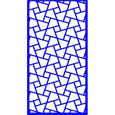 Cnc Panel Laser Cut Pattern File cn-l504 Free CDR Vectors Art