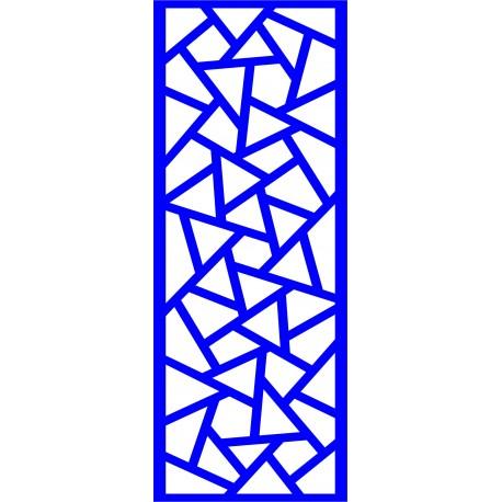 Cnc Panel Laser Cut Pattern File cn-l498 Free CDR Vectors Art
