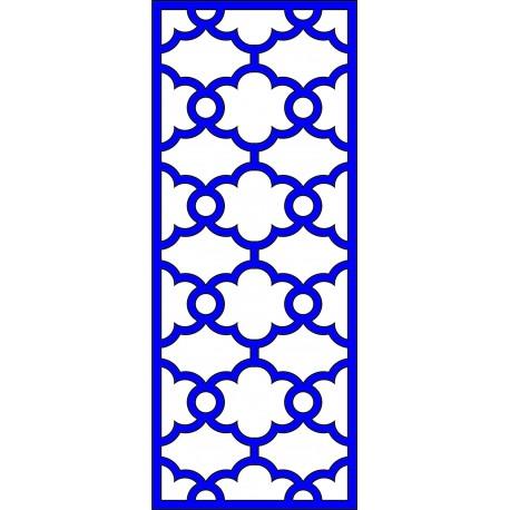 Cnc Panel Laser Cut Pattern File cn-l486 Free CDR Vectors Art