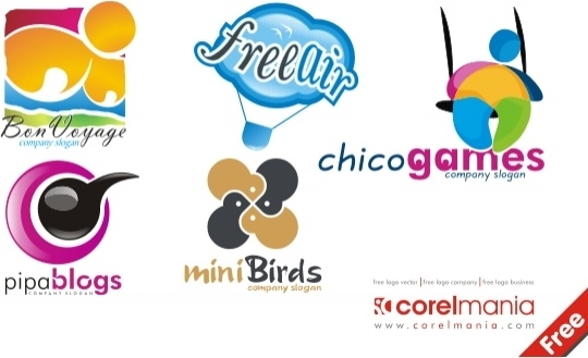 Cillection of logo Free CDR Vectors Art