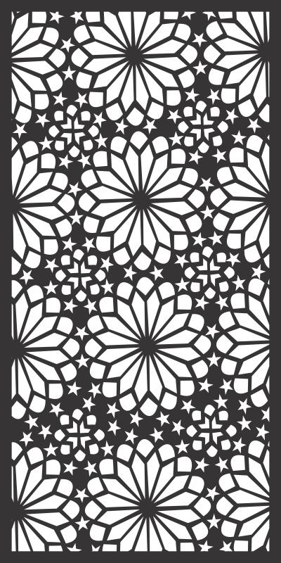 Ornamental round morocco seamless Free CDR Vectors Art