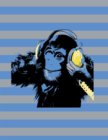 Animal Orangutan Music Free CDR Vectors Art