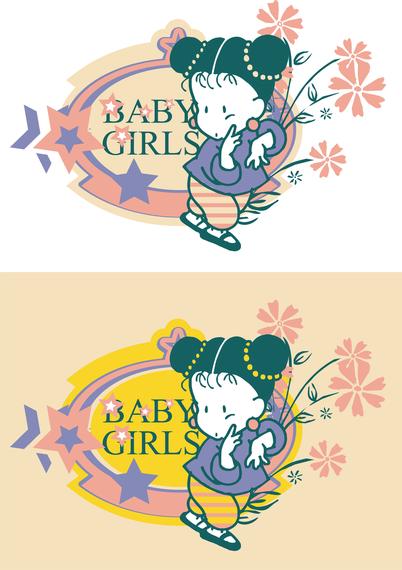 Baby Art Design Free CDR Vectors Art