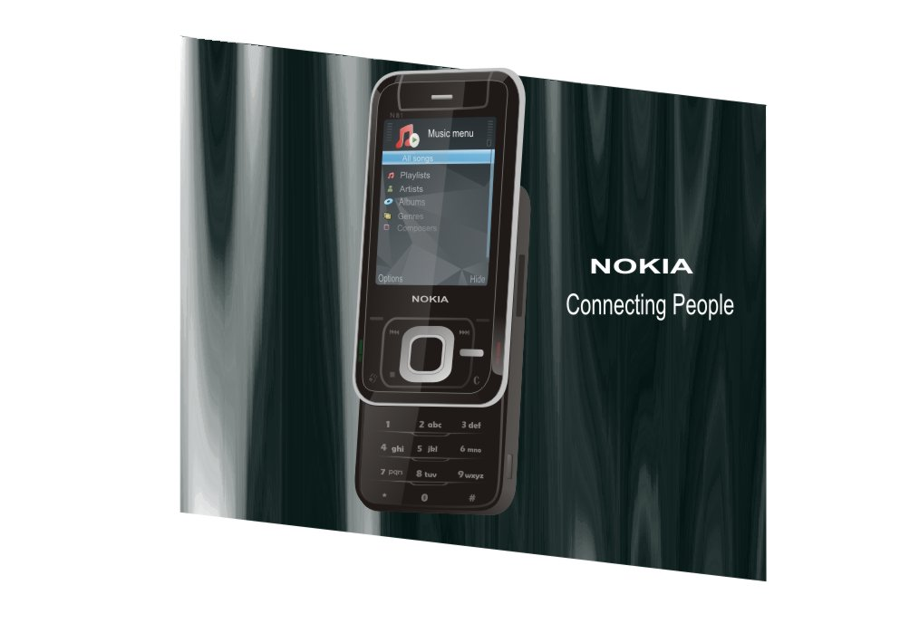 Mobile Phone Clipart Nokia n81 Free CDR Vectors Art