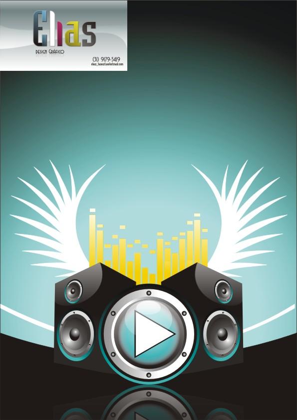 Music Theme Clip Art Caixas De Som Free CDR Vectors Art