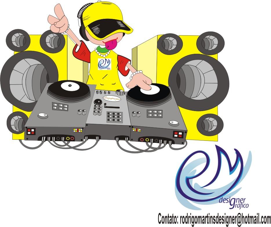 Music Theme Clip Art Dj Free CDR Vectors Art