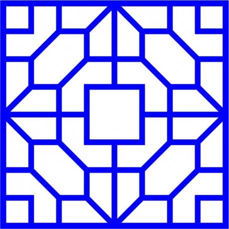 Cnc Panel Laser Cut Pattern File cn-l483 Free CDR Vectors Art