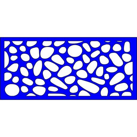 Cnc Panel Laser Cut Pattern File cn-l480 Free CDR Vectors Art