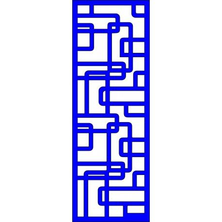 Cnc Panel Laser Cut Pattern File cn-l474 Free CDR Vectors Art