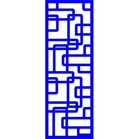 Cnc Panel Laser Cut Pattern File cn-l473 Free CDR Vectors Art