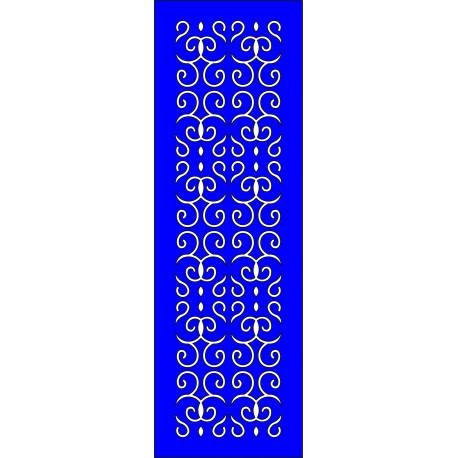 Cnc Panel Laser Cut Pattern File cn-l471 Free CDR Vectors Art