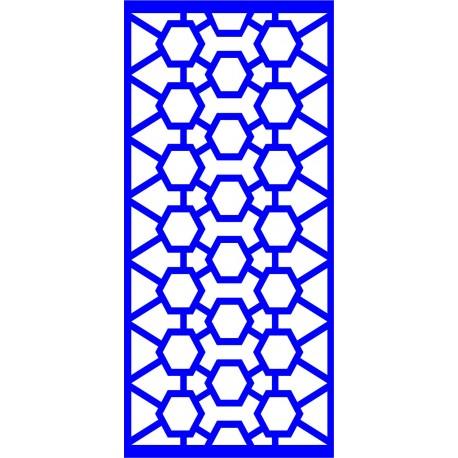 Cnc Panel Laser Cut Pattern File cn-l467 Free CDR Vectors Art