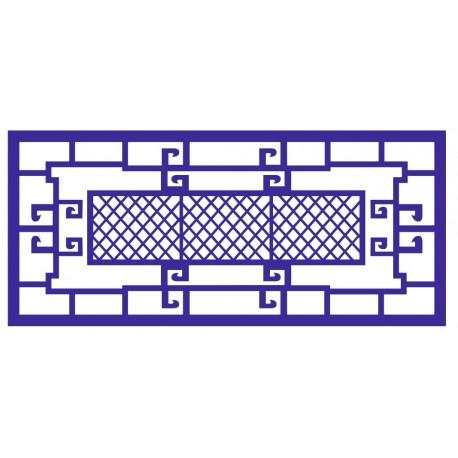 Cnc Panel Laser Cut Pattern File cn-l459 Free CDR Vectors Art
