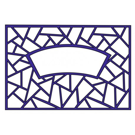Cnc Panel Laser Cut Pattern File cn-l458 Free CDR Vectors Art