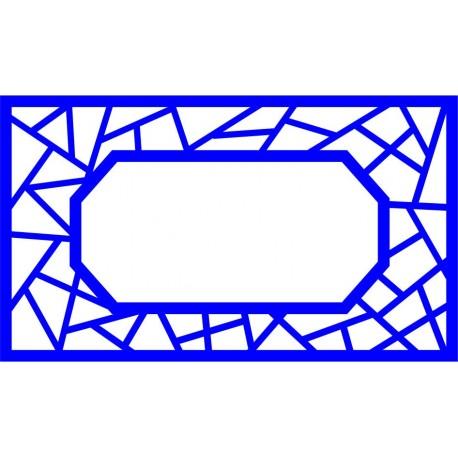 Cnc Panel Laser Cut Pattern File cn-l455 Free CDR Vectors Art