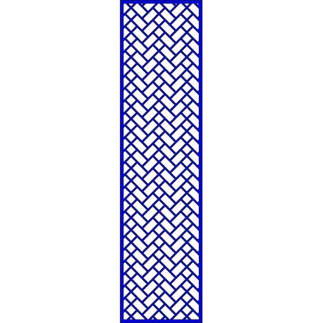 Cnc Panel Laser Cut Pattern File cn-l453 Free CDR Vectors Art