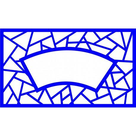 Cnc Panel Laser Cut Pattern File cn-l449 Free CDR Vectors Art