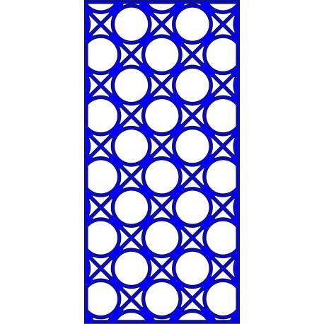 Cnc Panel Laser Cut Pattern File cn-l448 Free CDR Vectors Art