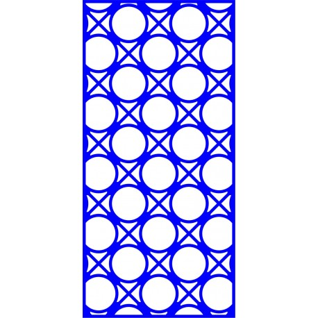 Cnc Panel Laser Cut Pattern File cn-l447 Free CDR Vectors Art