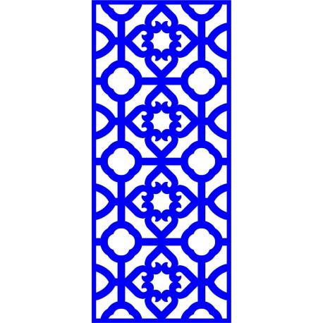 Cnc Panel Laser Cut Pattern File cn-l443 Free CDR Vectors Art