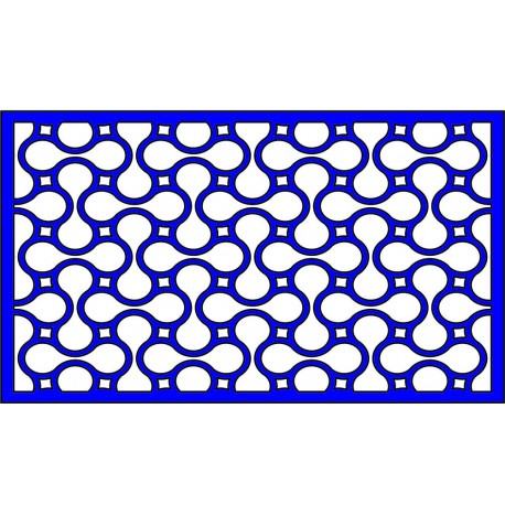 Cnc Panel Laser Cut Pattern File cn-l442 Free CDR Vectors Art