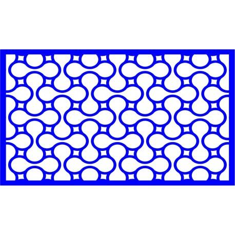 Cnc Panel Laser Cut Pattern File cn-l441 Free CDR Vectors Art