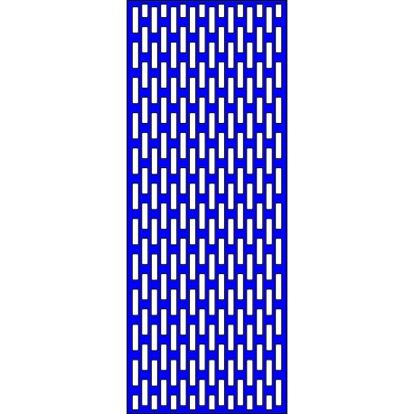 Cnc Panel Laser Cut Pattern File cn-l437 Free CDR Vectors Art