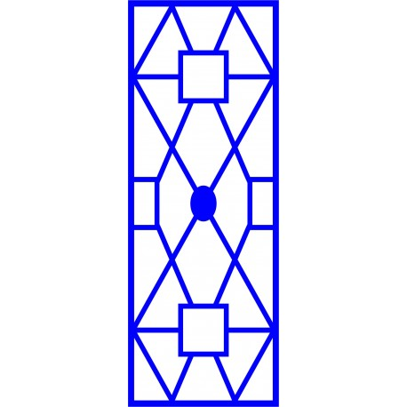 Cnc Panel Laser Cut Pattern File cn-l435 Free CDR Vectors Art