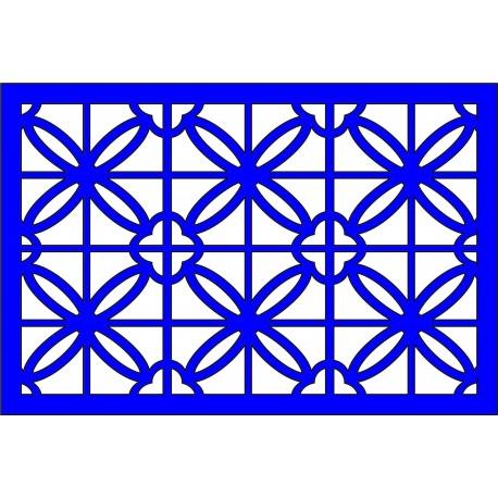 Cnc Panel Laser Cut Pattern File cn-l432 Free CDR Vectors Art