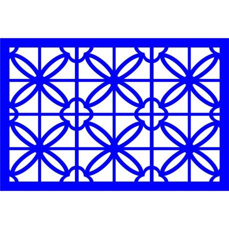 Cnc Panel Laser Cut Pattern File cn-l431 Free CDR Vectors Art