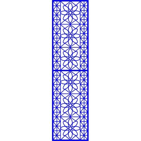 Cnc Panel Laser Cut Pattern File cn-l430 Free CDR Vectors Art