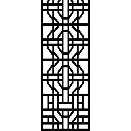 Cnc Panel Laser Cut Pattern File cn-l425 Free CDR Vectors Art