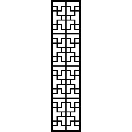 Cnc Panel Laser Cut Pattern File cn-l421 Free CDR Vectors Art