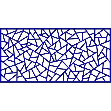 Cnc Panel Laser Cut Pattern File cn-l418 Free CDR Vectors Art