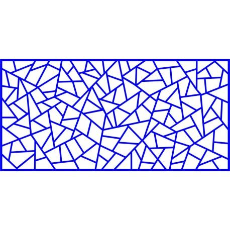 Cnc Panel Laser Cut Pattern File cn-l417 Free CDR Vectors Art