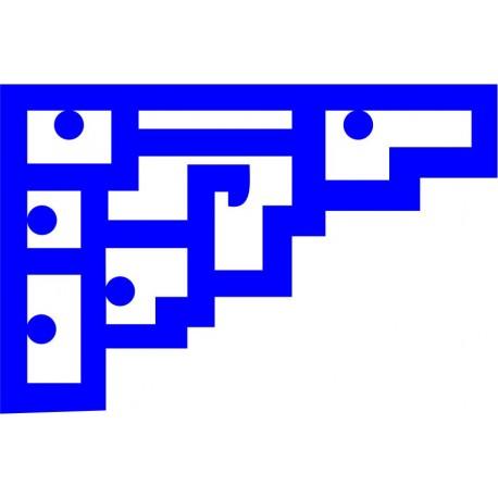 Cnc Panel Laser Cut Pattern File cn-l396 Free CDR Vectors Art