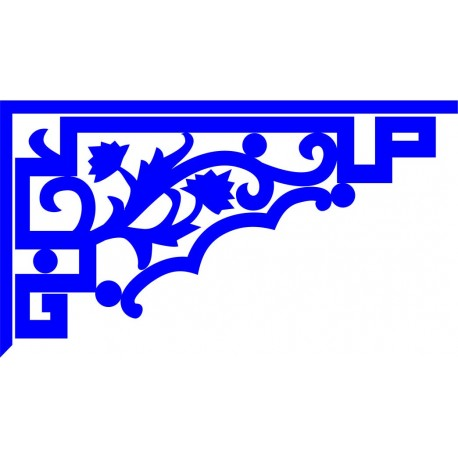 Cnc Panel Laser Cut Pattern File cn-l395 Free CDR Vectors Art