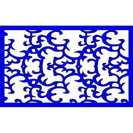 Cnc Panel Laser Cut Pattern File cn-l386 Free CDR Vectors Art