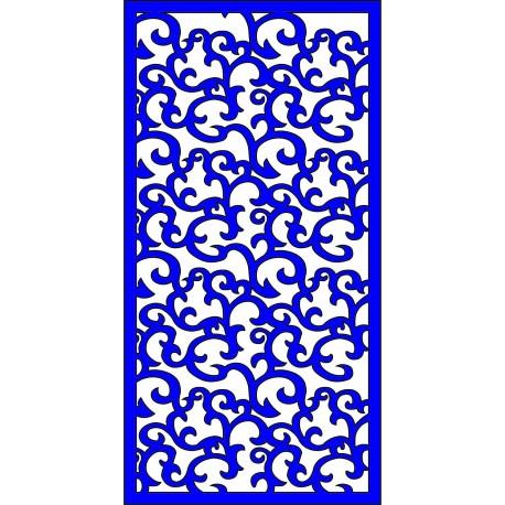Cnc Panel Laser Cut Pattern File cn-l378 Free CDR Vectors Art