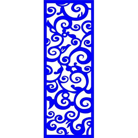 Cnc Panel Laser Cut Pattern File cn-l366 Free CDR Vectors Art