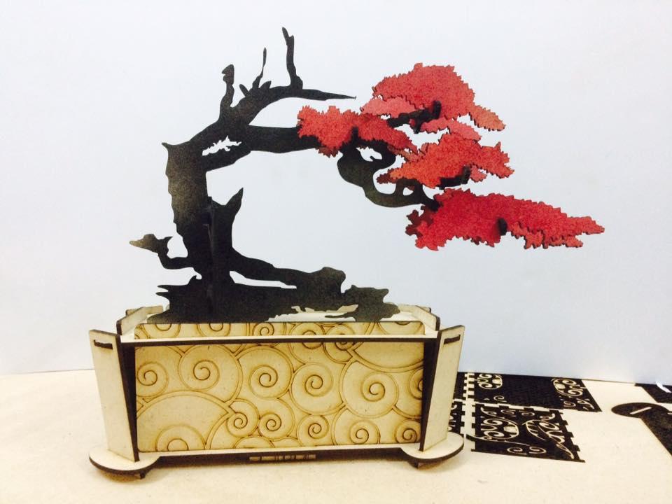 Bonsai Tree Free CDR Vectors Art