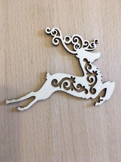Igrushki Fanera Novy Deer Free CDR Vectors Art