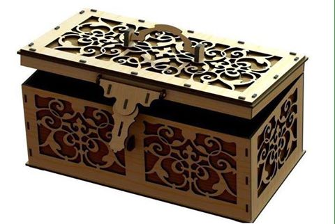 Jewelry Box  Classical Free CDR Vectors Art