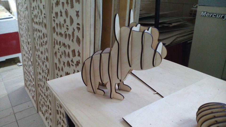 Mops 3 I 4 Mm Laser Cut Wooden Free CDR Vectors Art