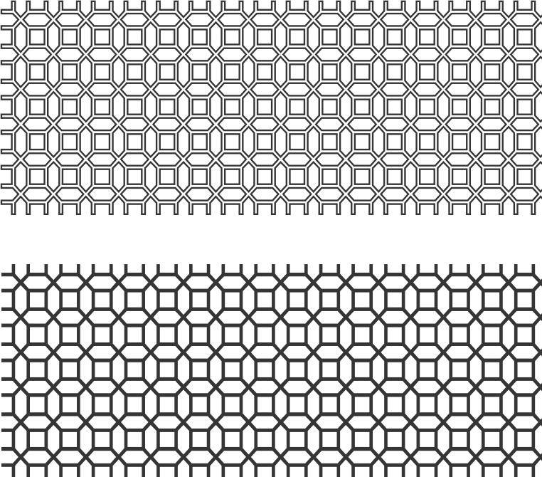 Screen Panel Pattern Free CDR Vectors Art