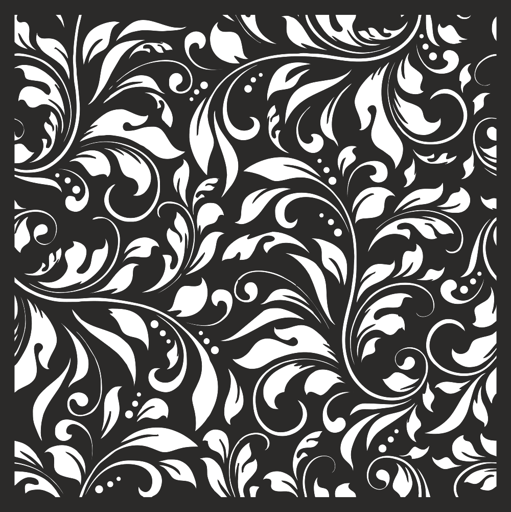 Damask Floral Vector Seamless Pattern Free CDR Vectors Art