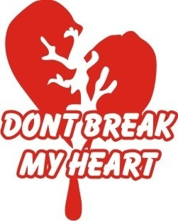 Broken heart Free CDR Vectors Art
