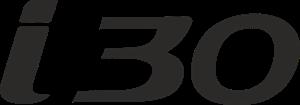 Hyundai i30 Logo Free CDR Vectors Art